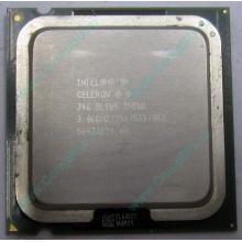 Процессор Intel Celeron D 346 (3.06GHz /256kb /533MHz) SL9BR s.775 (Апрелевка)