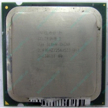 Процессор Intel Celeron D 336 (2.8GHz /256kb /533MHz) SL8H9 s.775 (Апрелевка)